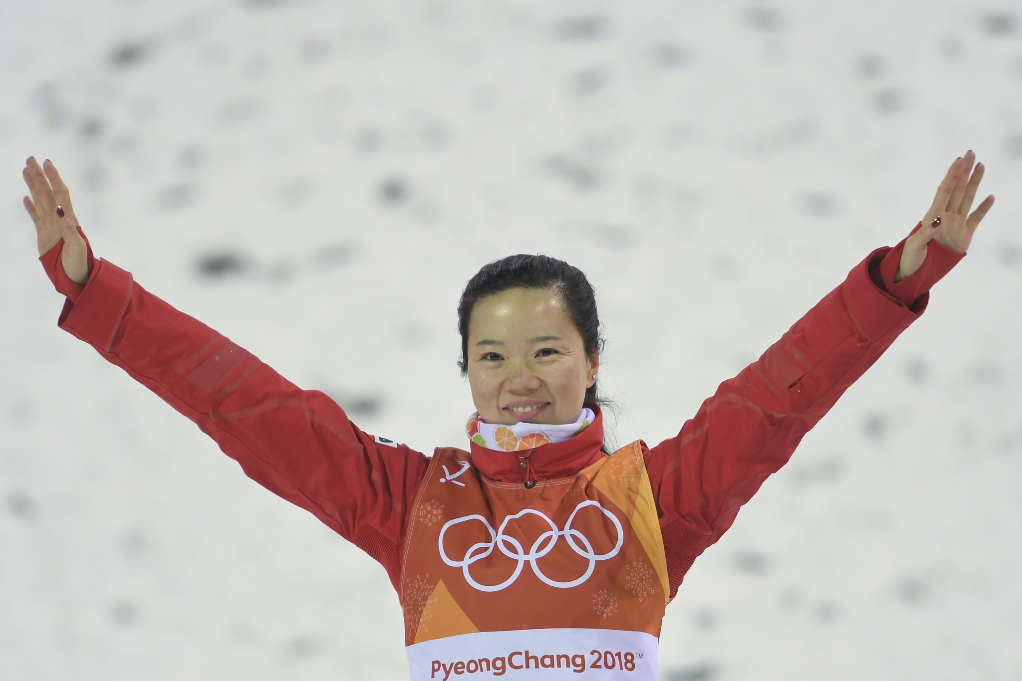 Zhang Xin of China finished in second place ©Getty Images