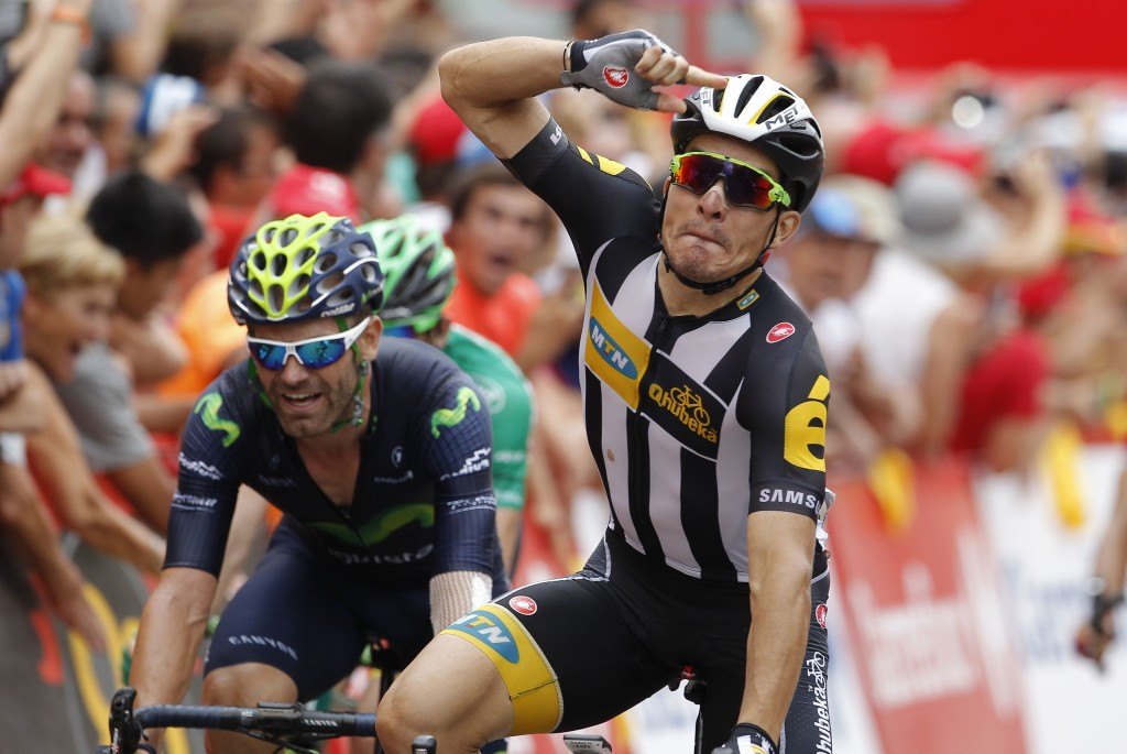 Sbaragli triumphs as Dumoulin retains overall lead at Vuelta a España