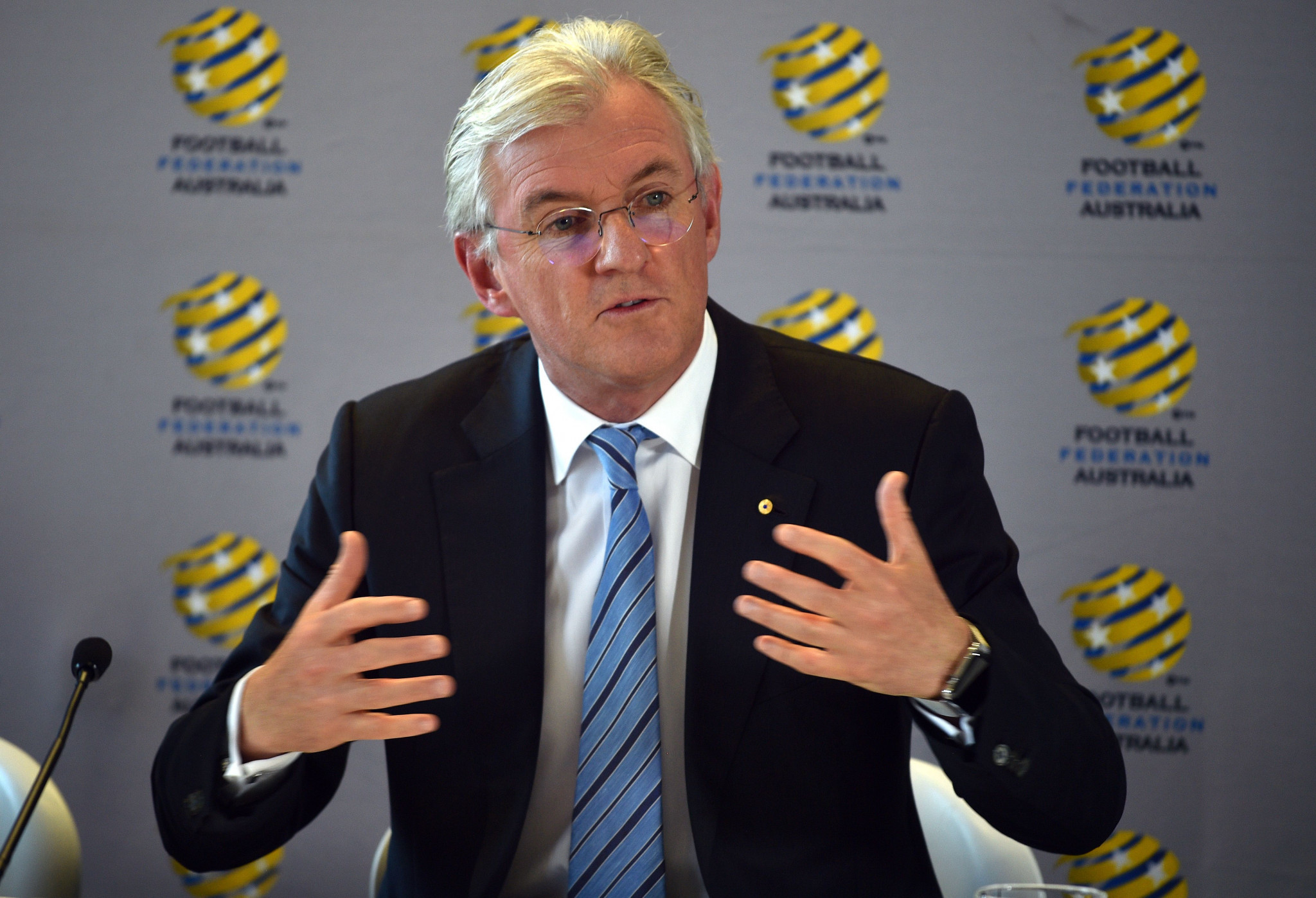 FIFA and AFC officials to hold meetings with Football Federation Australia next week to help resolve Congress dispute