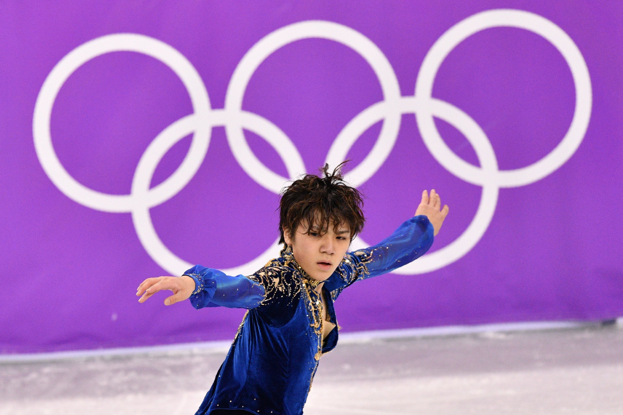 Japan's Shoma Uno had to settle for the silver medal ©Getty Images