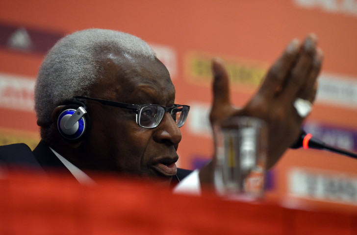 Former IAAF President Lamine Diack has requested a meeting with his successor, Sebastian Coe, who has agreed in order to help the French police with their investigations ©Getty Images