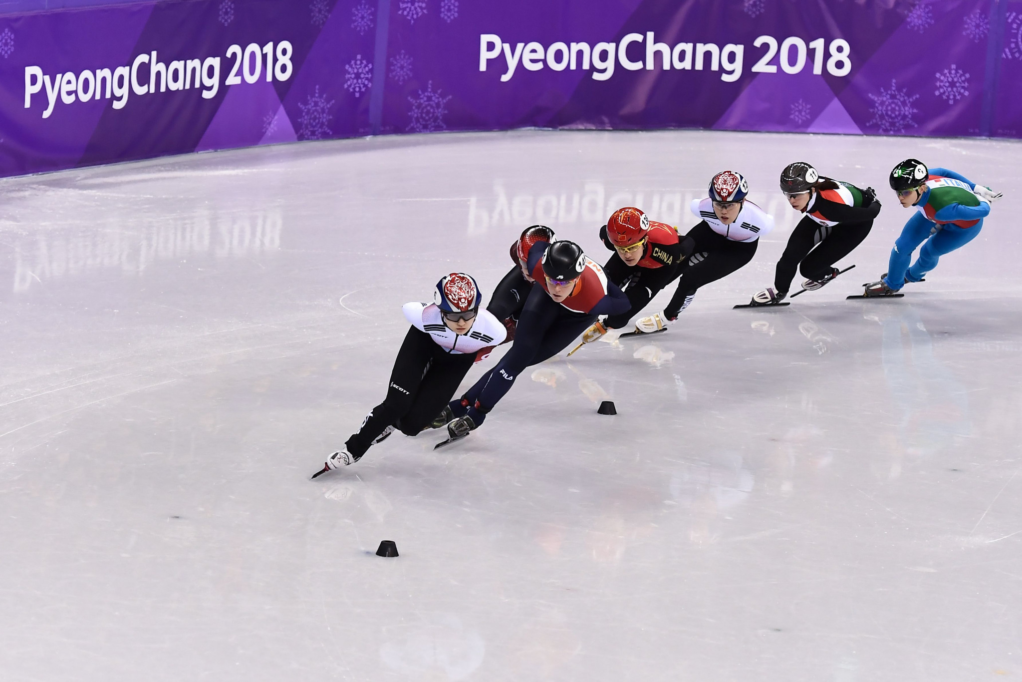 Choi delivers Olympic glory for hosts as Girard secures gold in dramatic fashion at Pyeongchang 2018