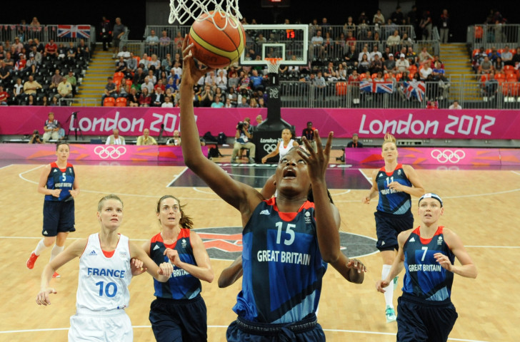 Temi Fagbenle, pictured scoring against France at the London 2012 Olympics, says UK Sport and Sport England are