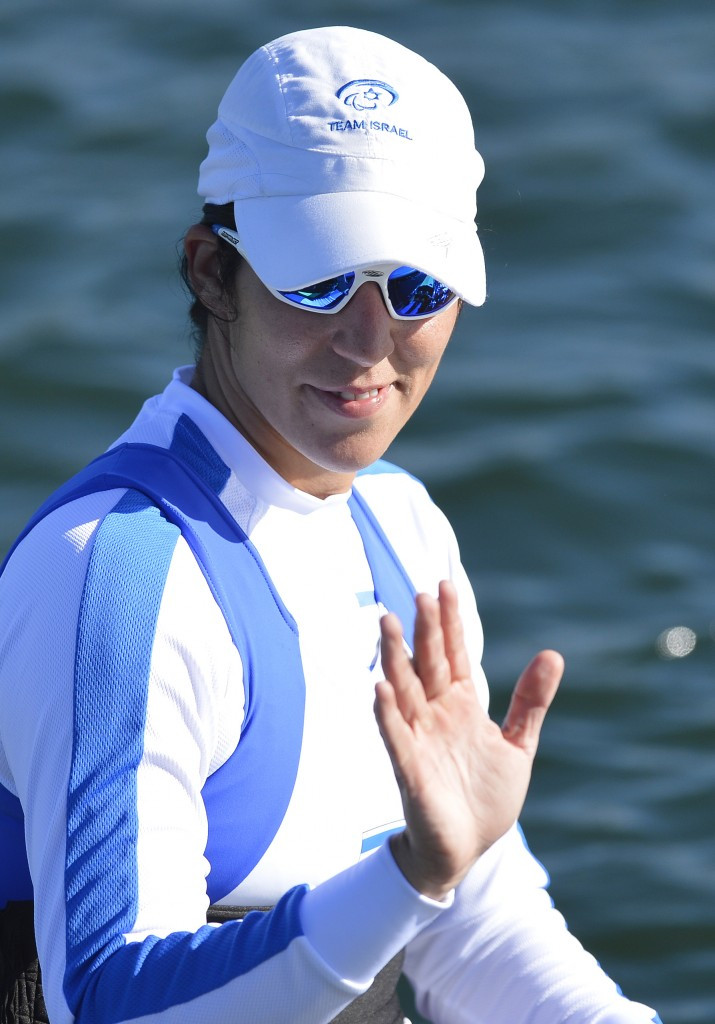 Israel's Samuel gunning for AS Para-single sculls gold at World Rowing Championships in Aiguebelette