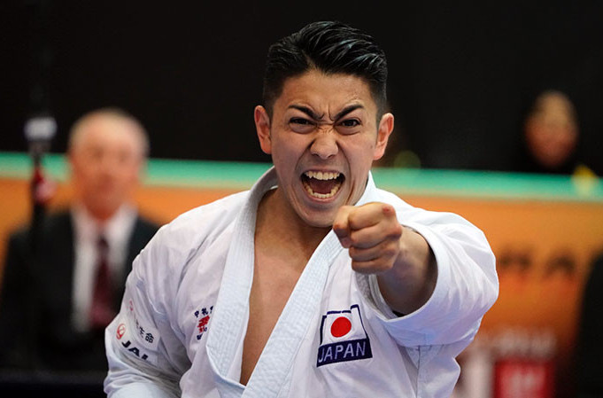 Japan's Ryo Kiyuna will meet Damian Quintero of Spain in tomorrow's Kata final at the Karate 1 - Premier League in Dubai, which will be a re-run of their World Championships final last year ©WKF