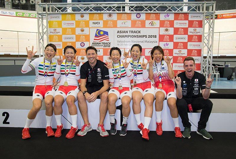 World champion Awang denied gold at Asian Track Cycling Championships