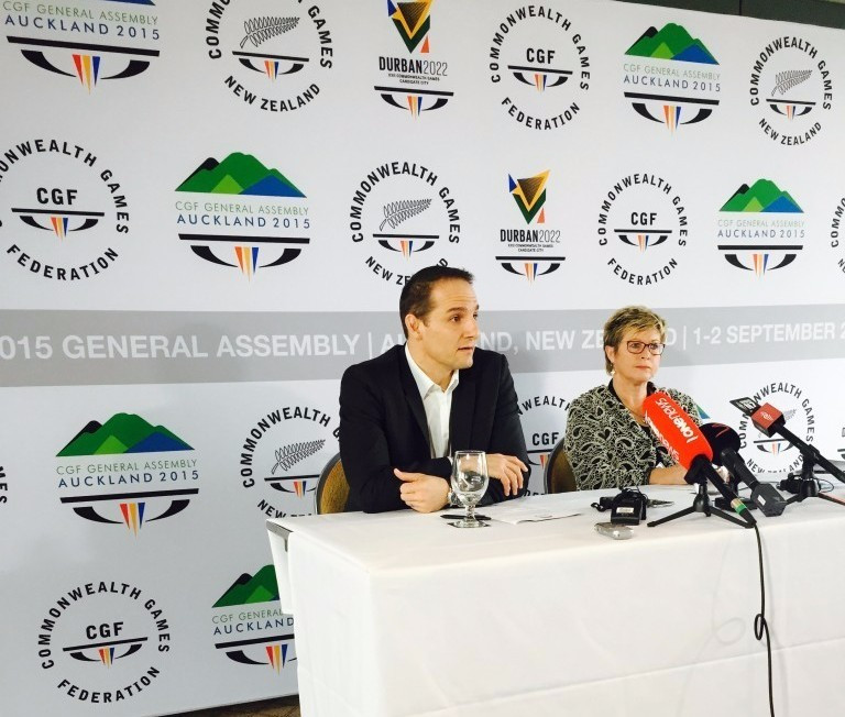 """New Commonwealth Games core sports plan will help give """"greater stability"""" claims Grevemberg"""
