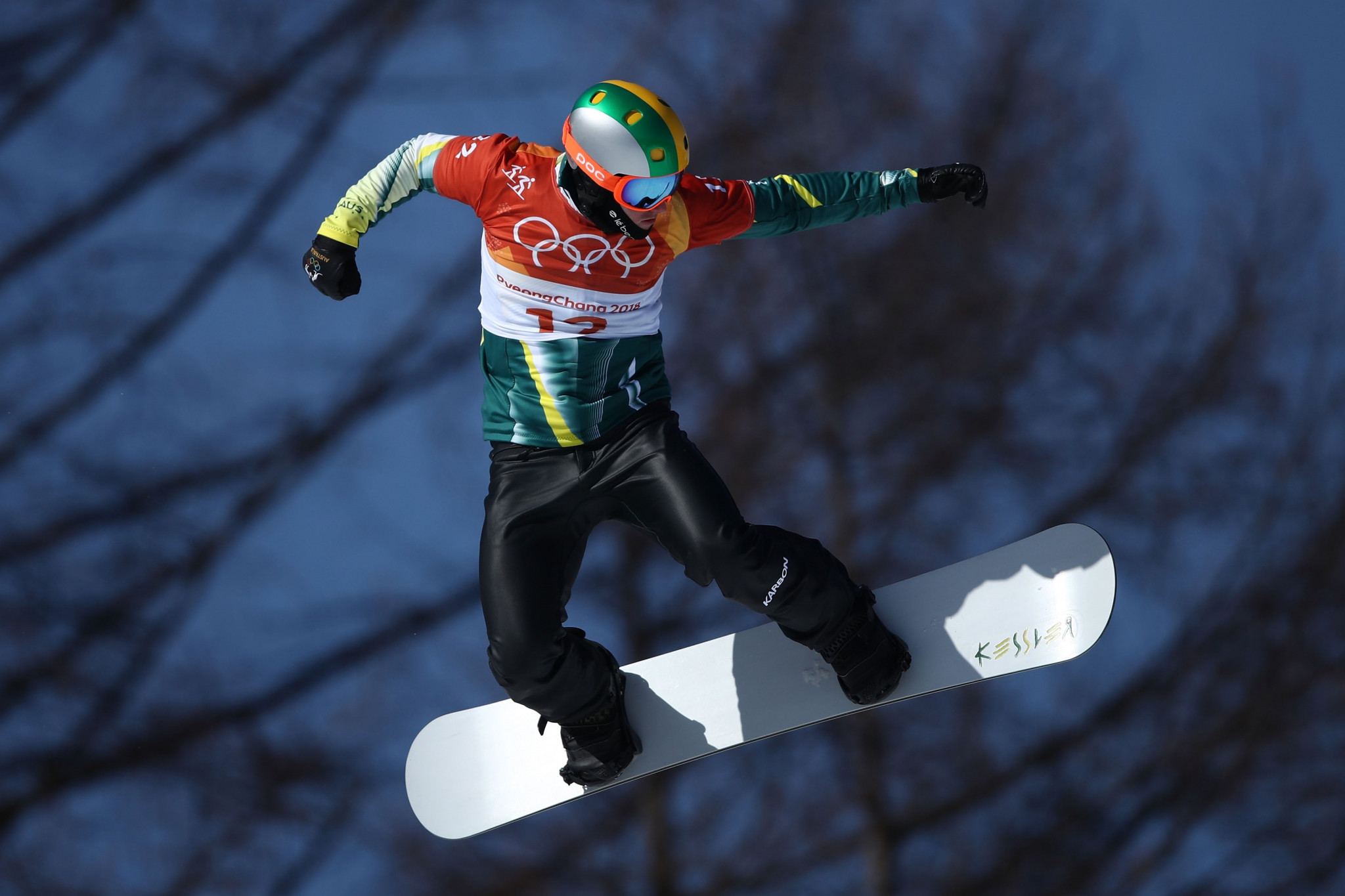 Medal-winning performances from the likes of snowboarder Jarryd Hughes have helped lead to unexpectedly high television viewing figures in Australia ©Getty Images