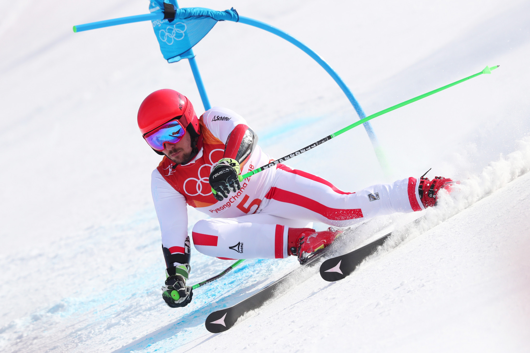 Hirscher clinches second gold medal with dominant giant slalom triumph at Pyeongchang 2018