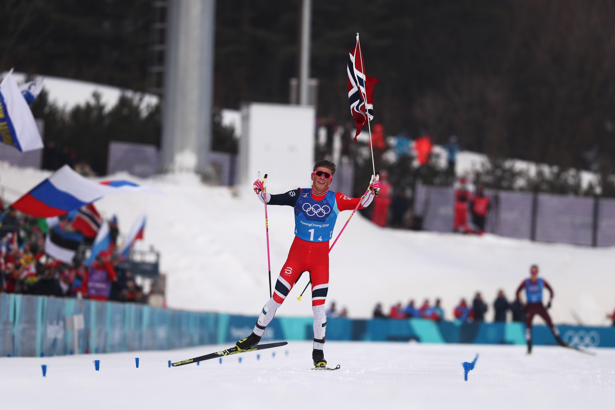 Norway win men's cross-country relay at Pyeongchang 2018 to move closer to historic achievement