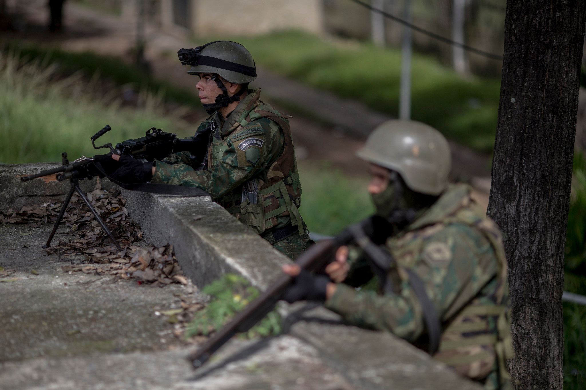 Brazil's military has been put in charge of security in Rio de Janeiro ©Getty Images