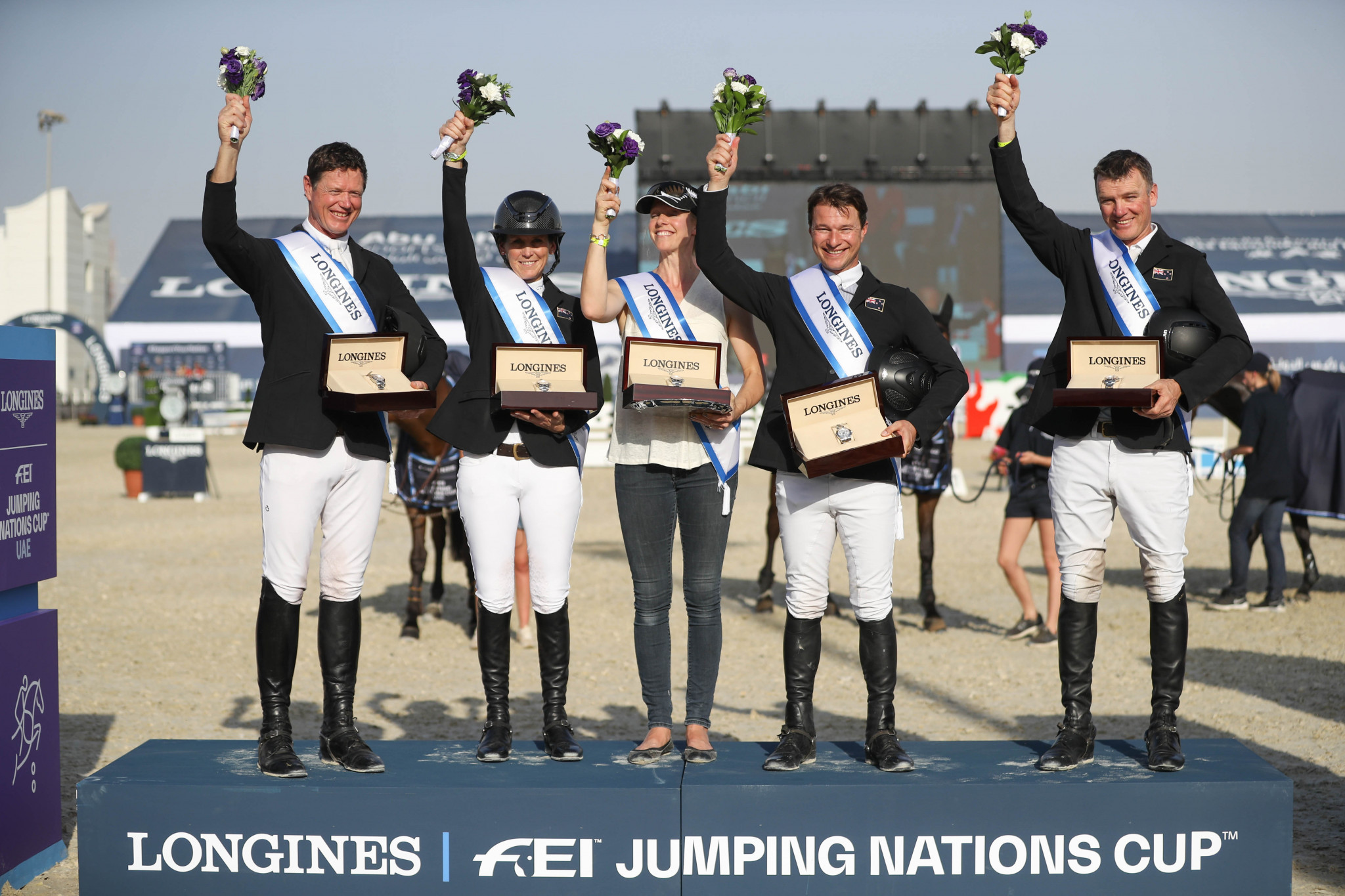 New Zealand come out on top in FEI Jumping Nations Cup in Abu Dhabi