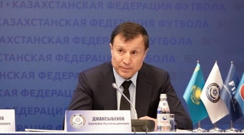 Zhaksybekov returns as Kazakhstan Football Federation President