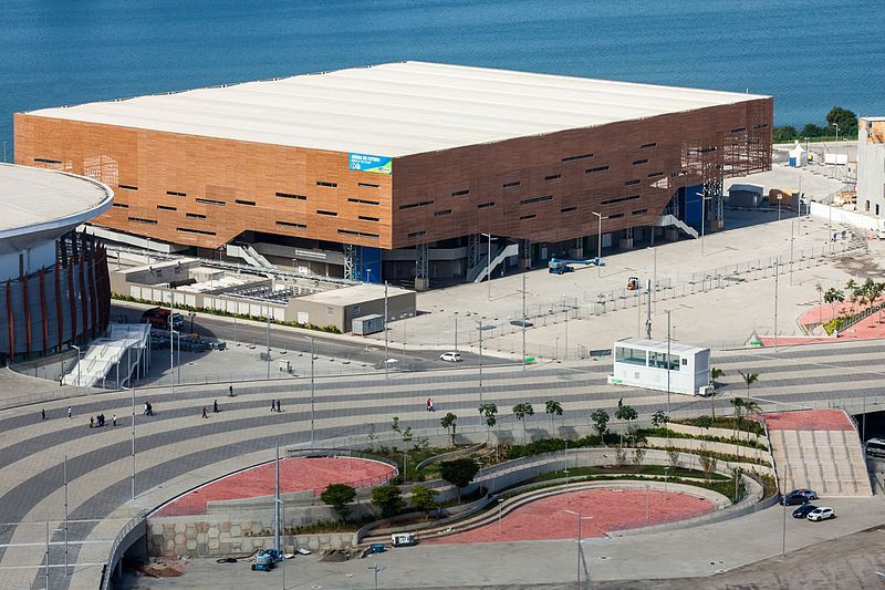 The  Future Arena, which staged handball during Rio 2016, is one of the temporary venues that has not been dismantled 18 months after the Olympic Games finished in the Brazilian city ©Wikipedia