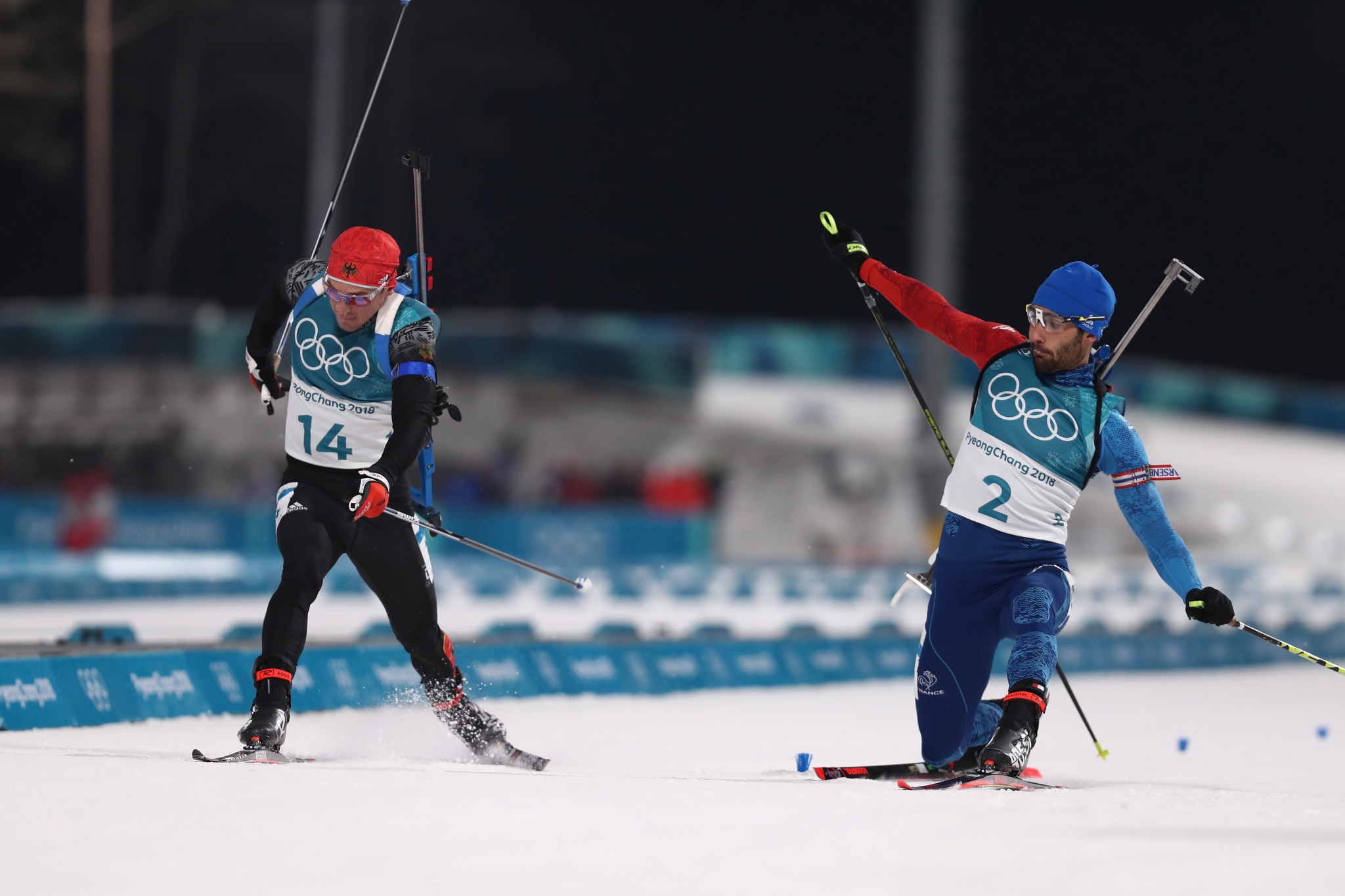 Fourcade edges Schempp in photo finish to become France's most successful ever Olympic athlete