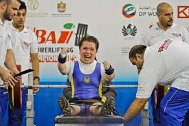 Lidiia Soloviova of Ukraine was one of three Paralympic champions to win gold today at the World Para Powerlifting World Cup in Dubai ©IPC