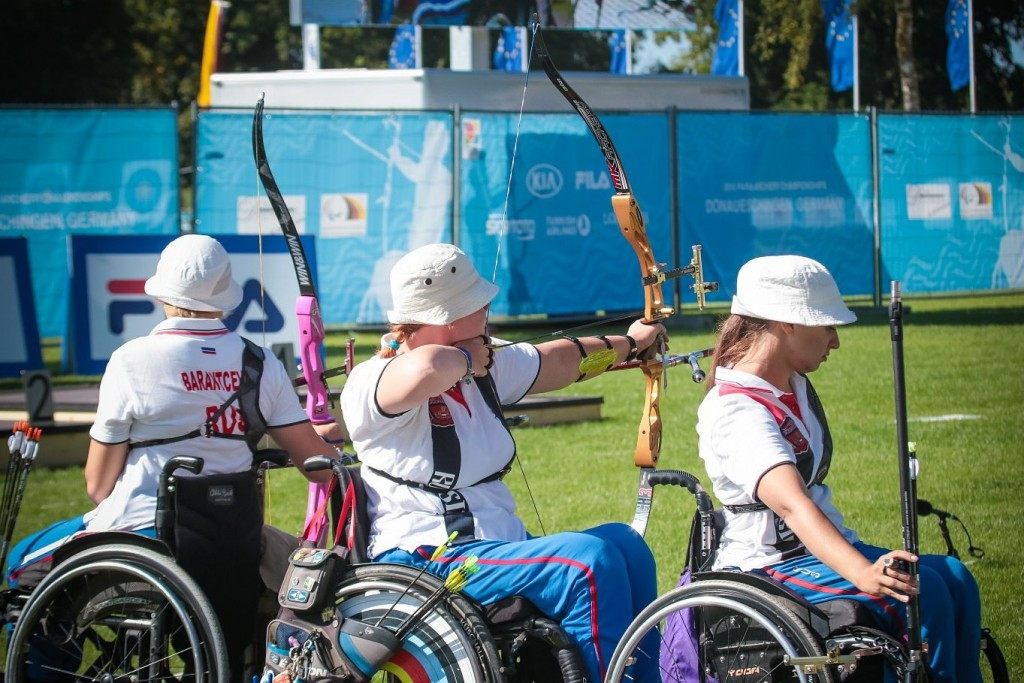 Russia claim six medals as World Para Archery Championships continue