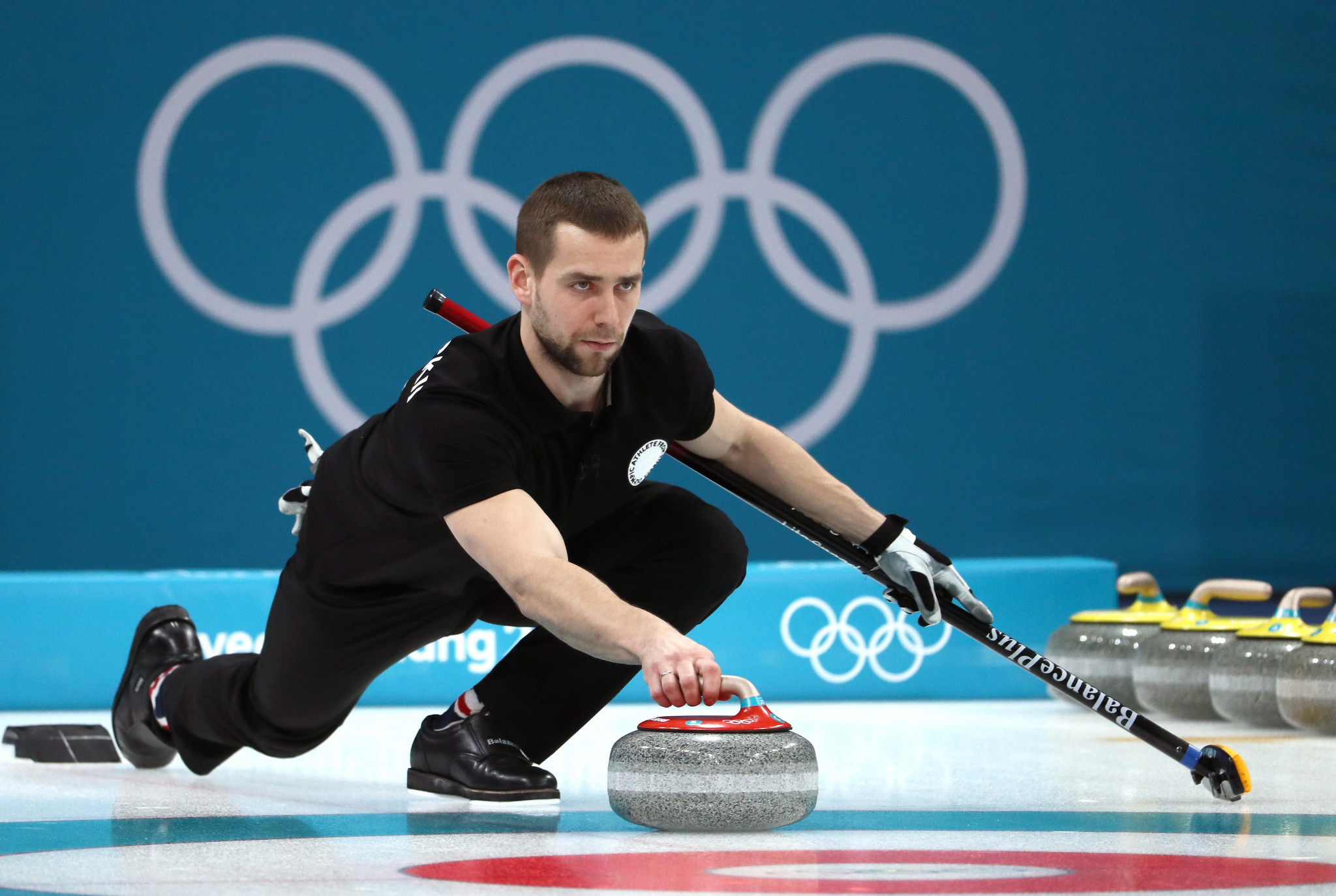 Russian curler formally charged with doping offence at Pyeongchang 2018