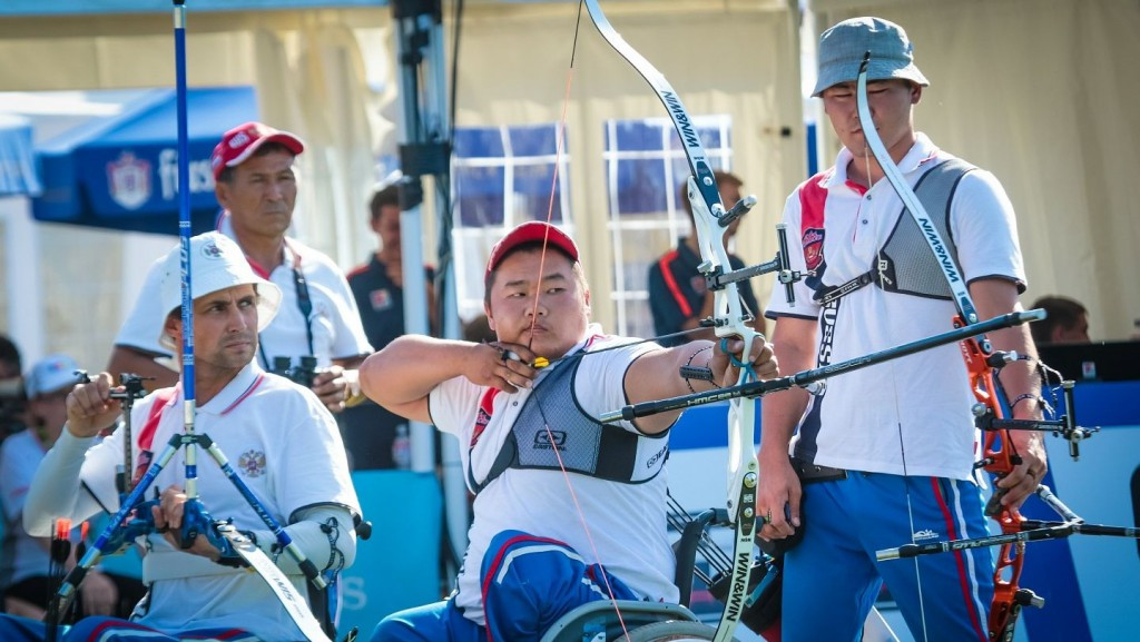 Two of Russia's six medals were gold ©World Archery