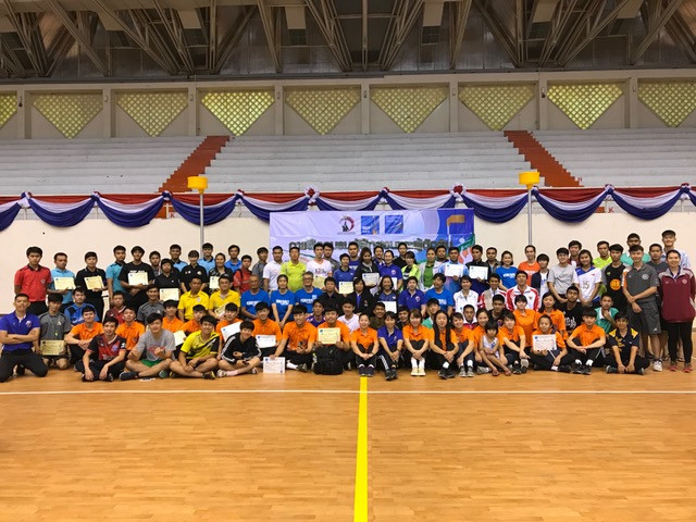 TKA held coaching and referee training courses at the Sports Centre of Srinakharinwirot University ©IKF
