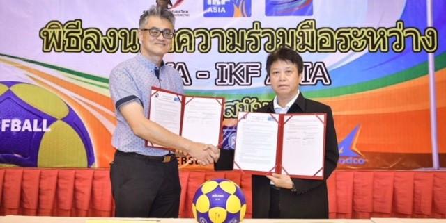 A Memorandum of Understanding has been signed between TKA and IKF Asia ©IKF