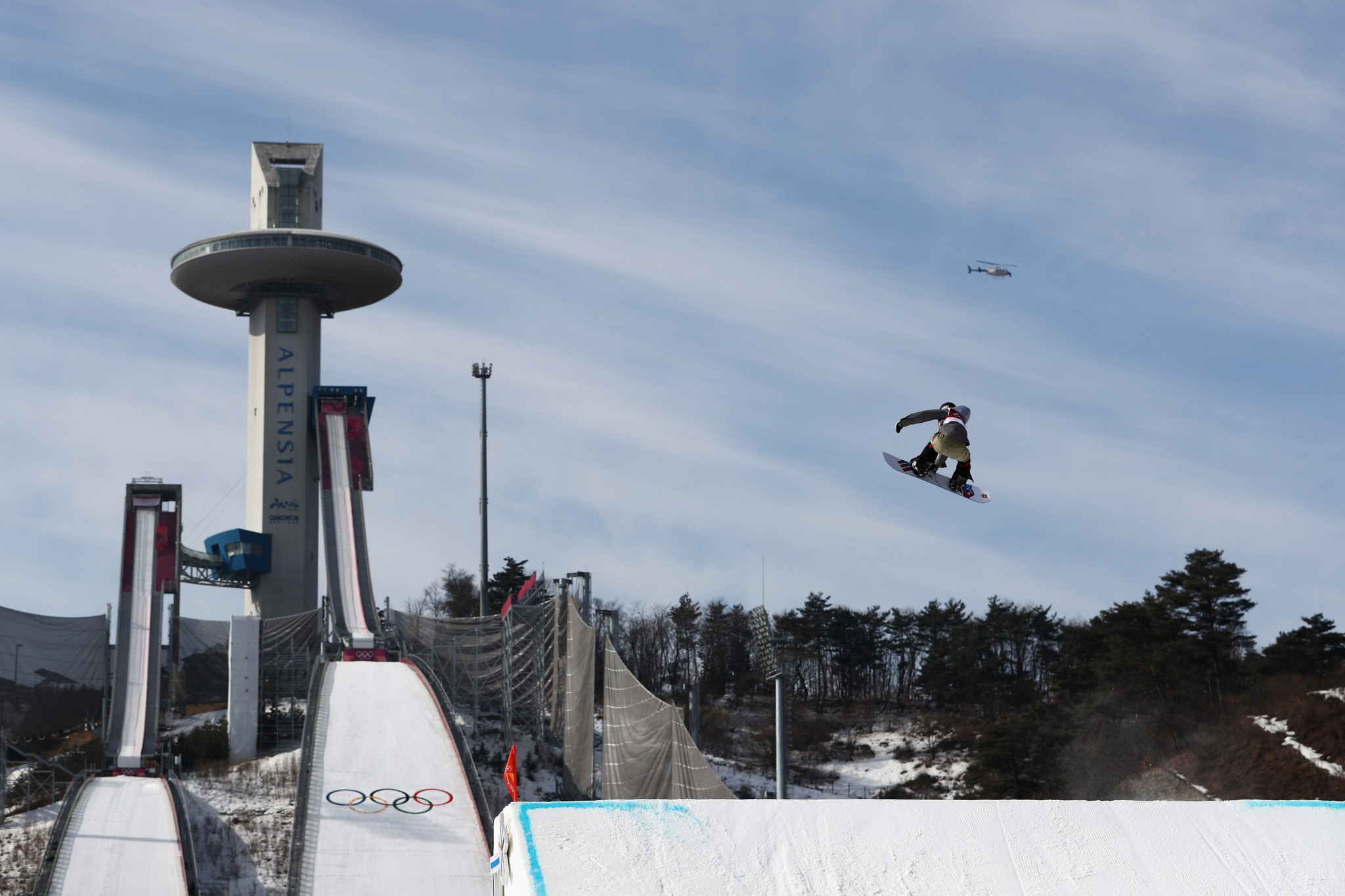 Big air qualification has begun today at Pyeongchang 2018 ©Getty Images