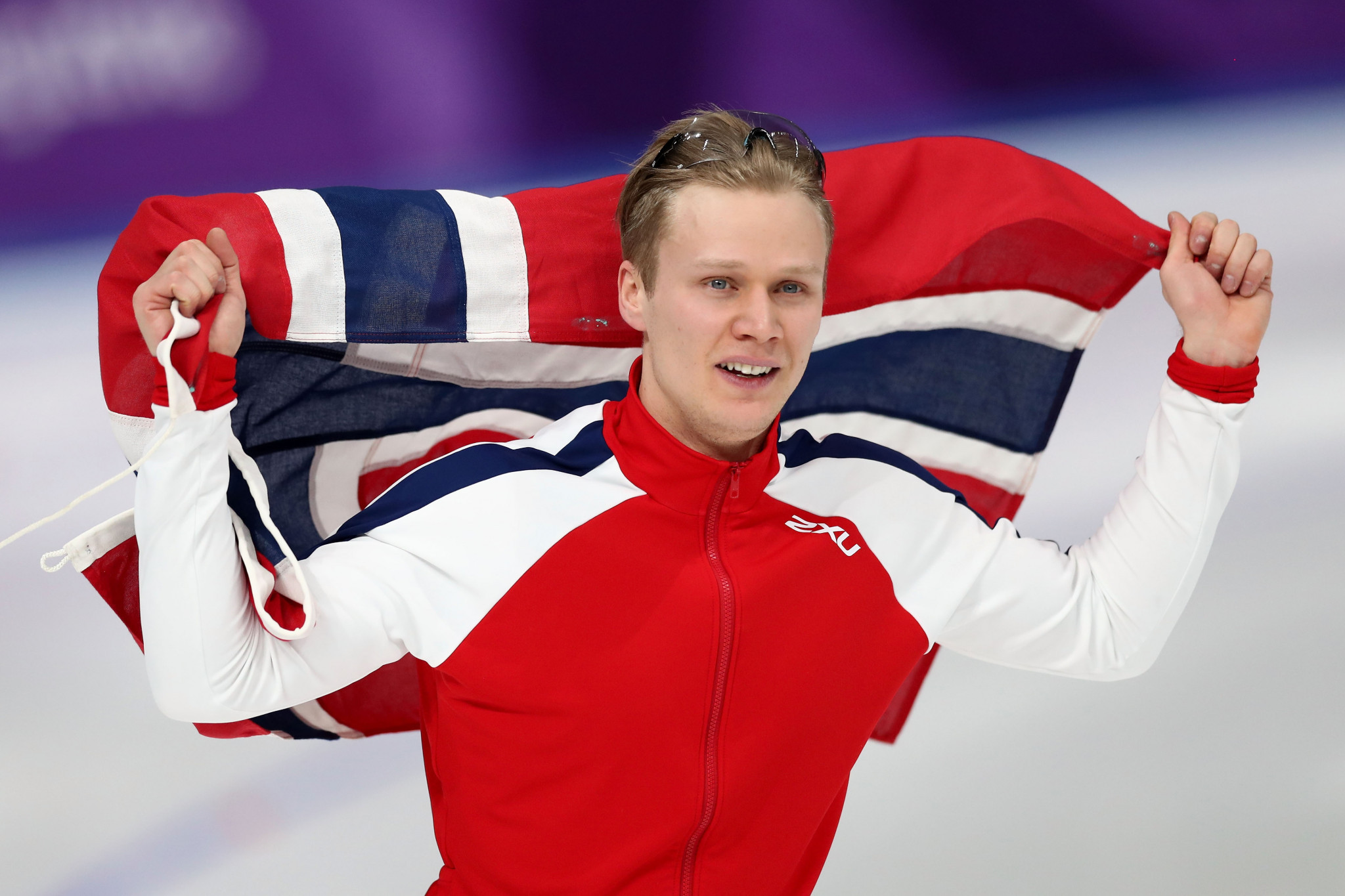 Norway's Håvard Lorentzen secured his country's first speed skating gold medal for two decades ©Getty Images