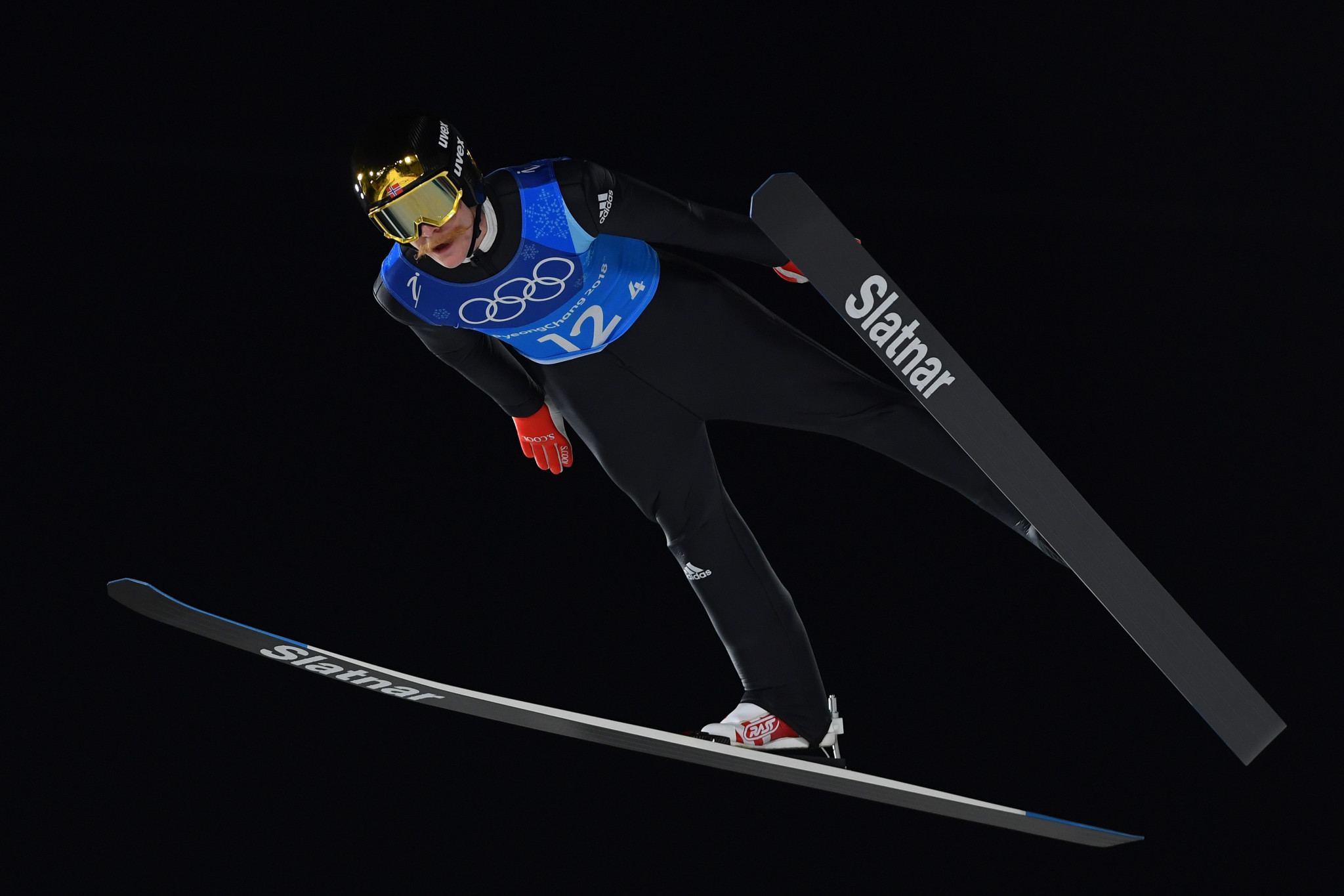 Norway lands team ski jumping gold medal