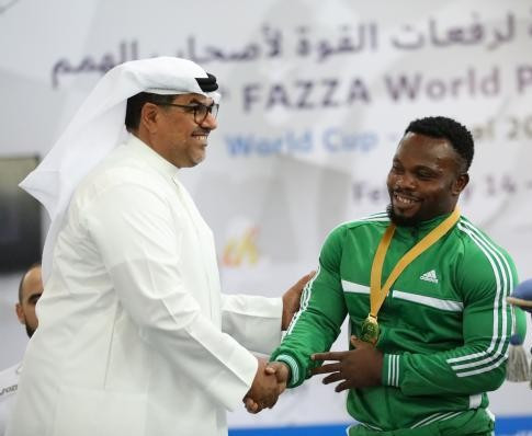 Paul Kehinde was a class apart in his category ©Fazza Cup