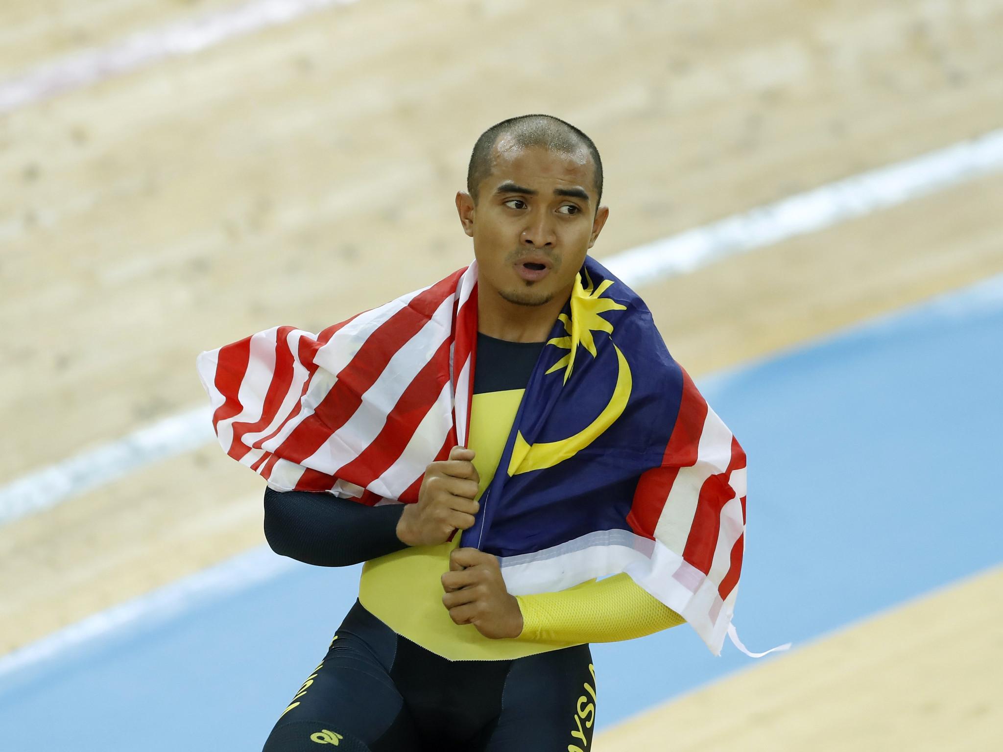 Awang sets new continental record at Asian Track Cycling Championships