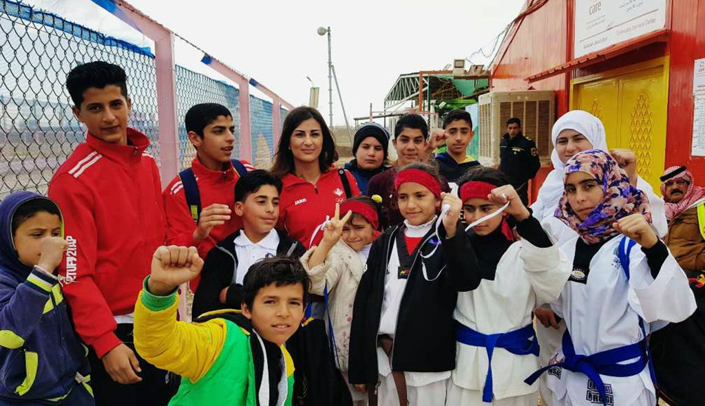 Youngsters praise Taekwondo Humanitarian Foundation work at Azraq Refugee Camp