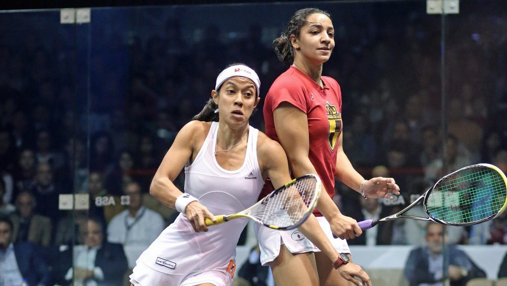 Raneem El Welily becomes new women's squash number one after ending Nicol David's nine year reign