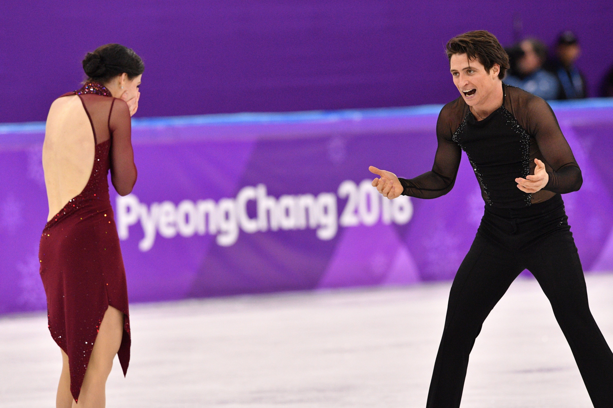 Canada's Tessa Virtue and Scott Moir re-gained their Olympic ice dance title at Pyeongchang 2018 to become the most decorated figure skaters in Games history ©Getty Images