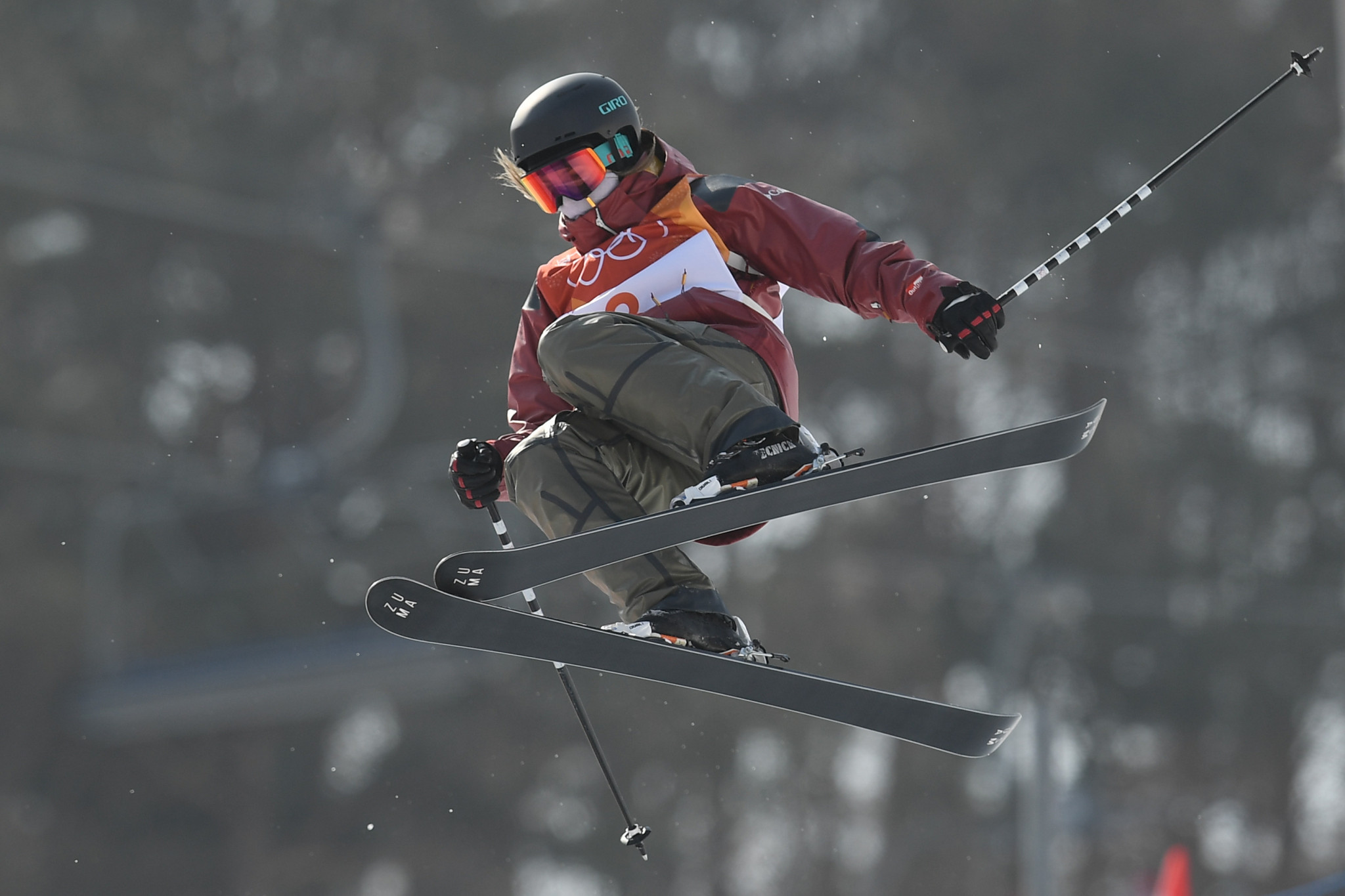 Cassie Sharpe produced the two highest scores of the event to take gold in style ©Getty Images
