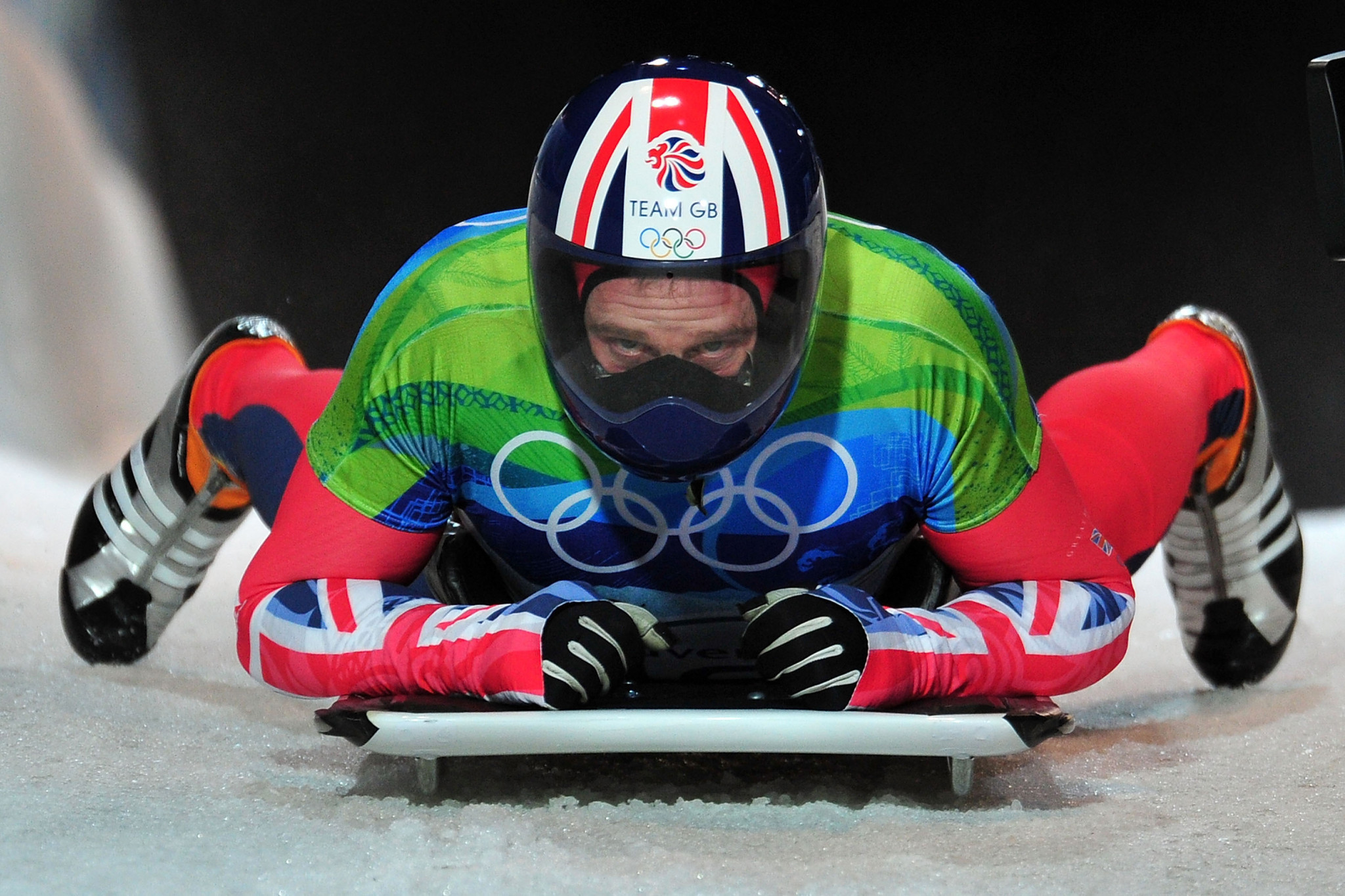 Adam Pengilly pictured competing at the Vancouver 2010 Winter Olympic Games ©Getty Images