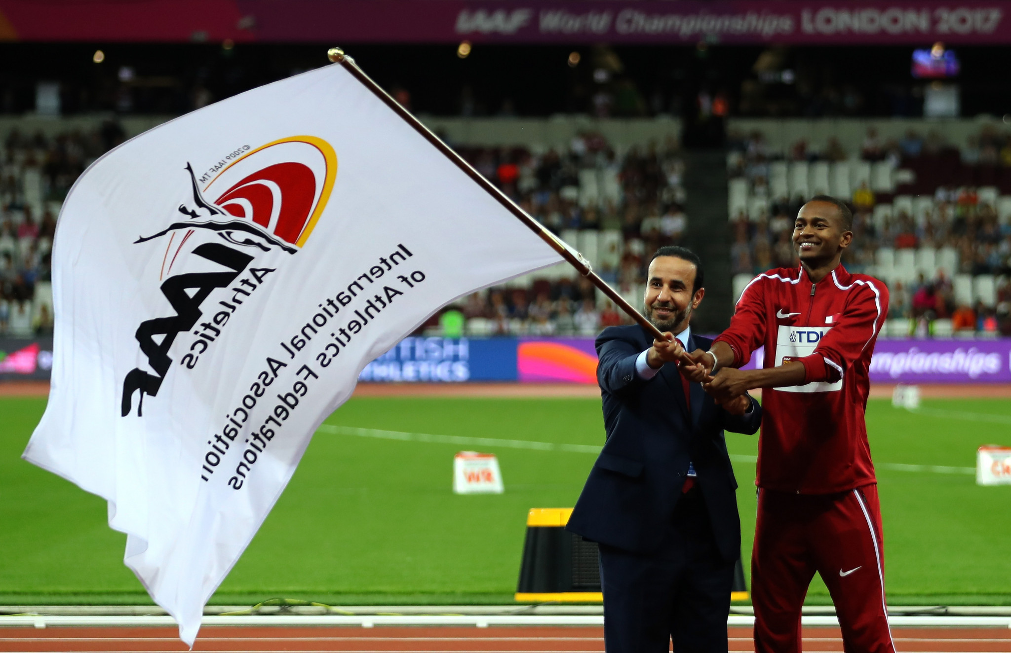 Doha beat Eugene to the 2019 World Championships but the American city were named as 2021 hosts five months later ©Getty Images