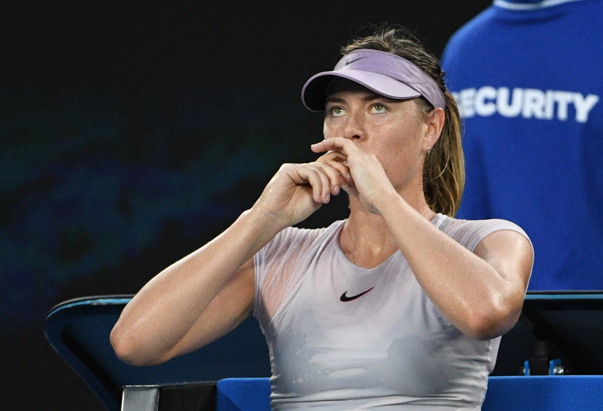 Maria Sharapova passed eight doping tests in 2017 ©Getty Images