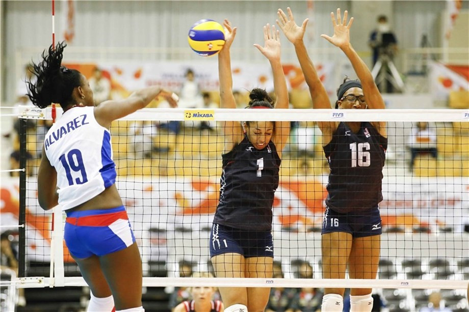 The United States flying high as second round of FIVB Women's World Cup concludes
