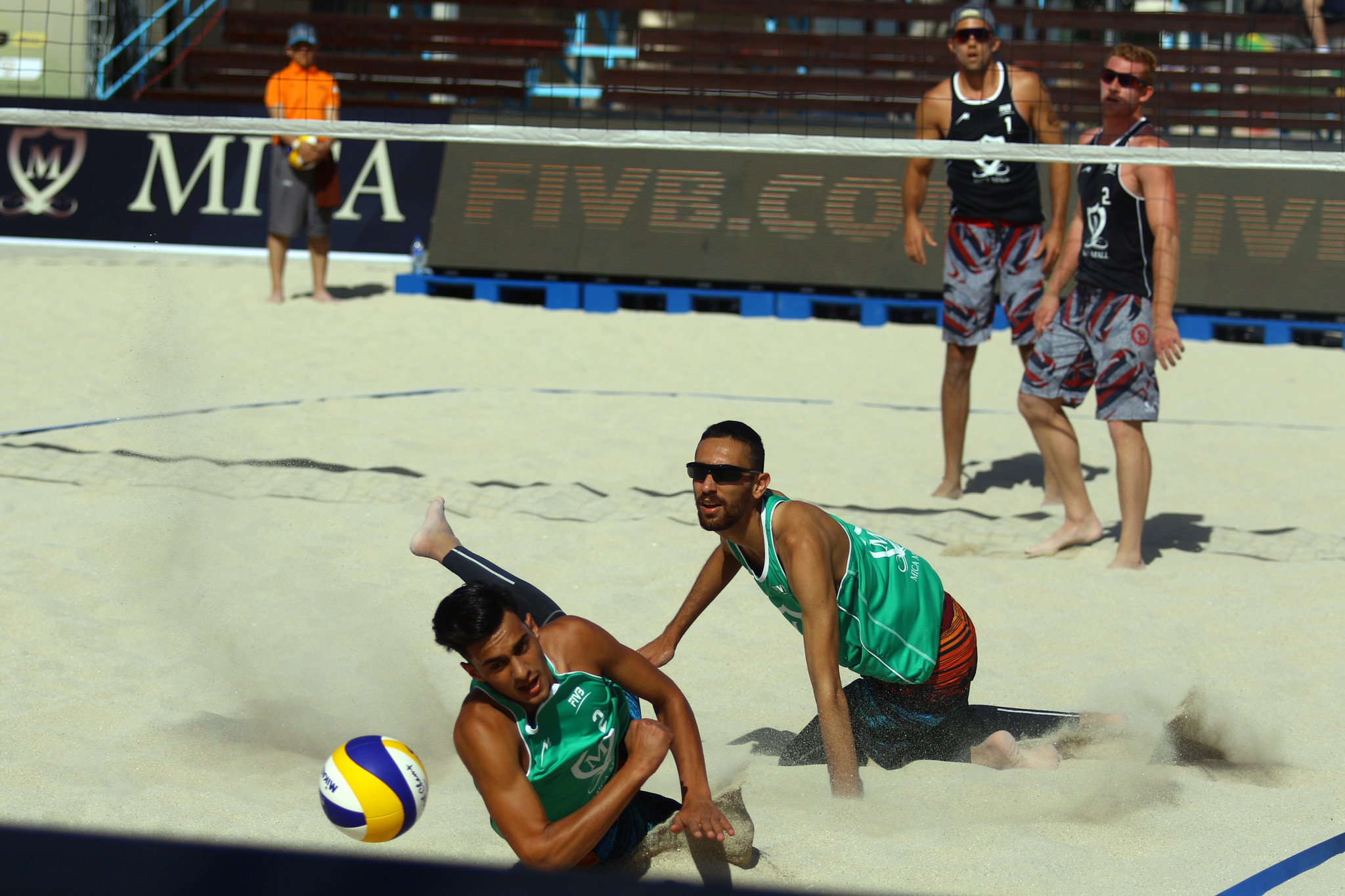 All four Iranian teams lost their matches today ©FIVB