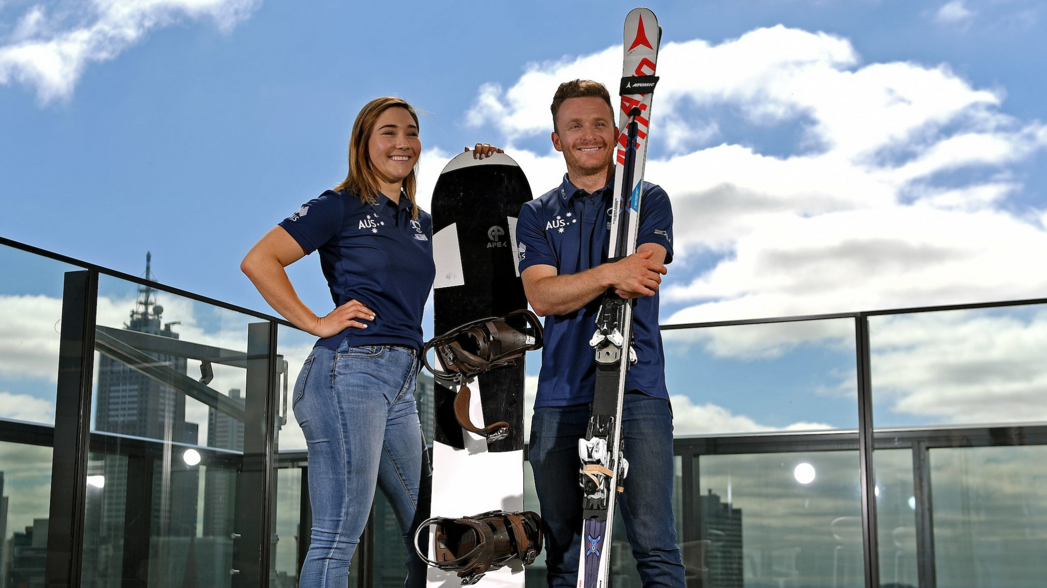 Joany Badenhorst and Mitchell Gourley have been named as co-captains of the team ©APC