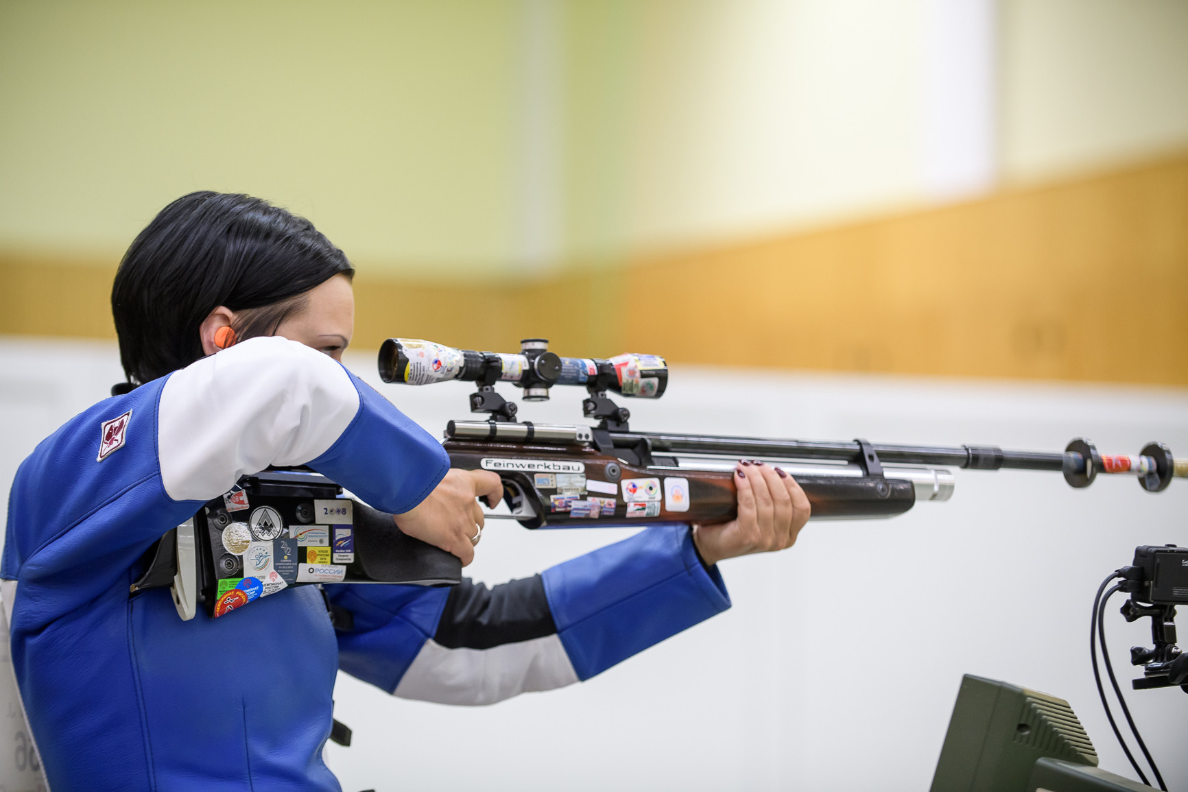 Julia Eydenzon secured Russia's first gold medal of the European Shooting Championships ©ISSF/Flickr