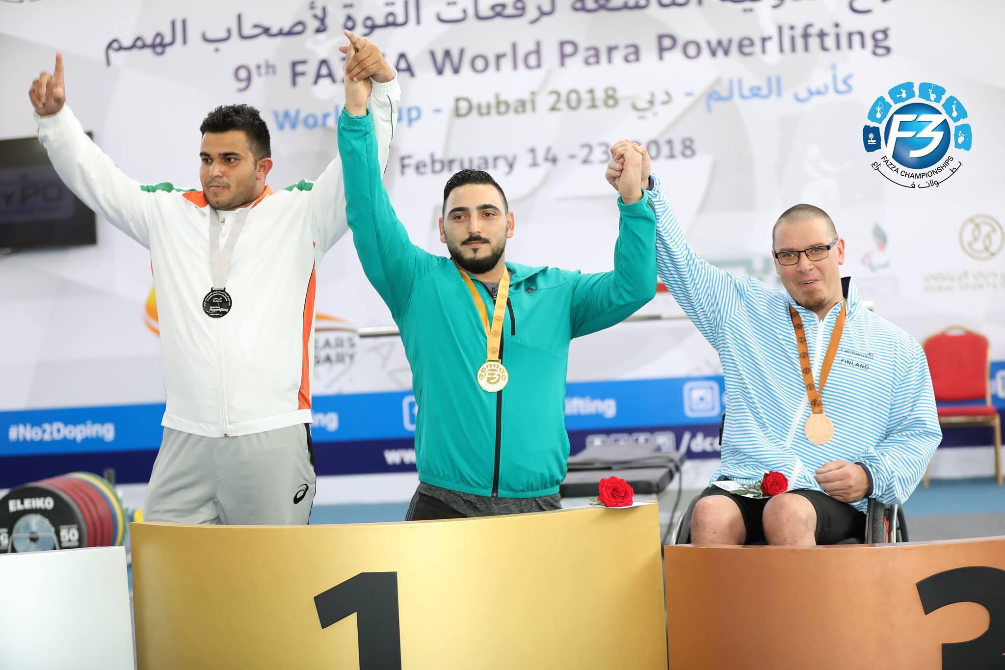 Abdelkareem Khattab claimed gold in the World Para Powerlifting World Cup in Dubai ©IPC