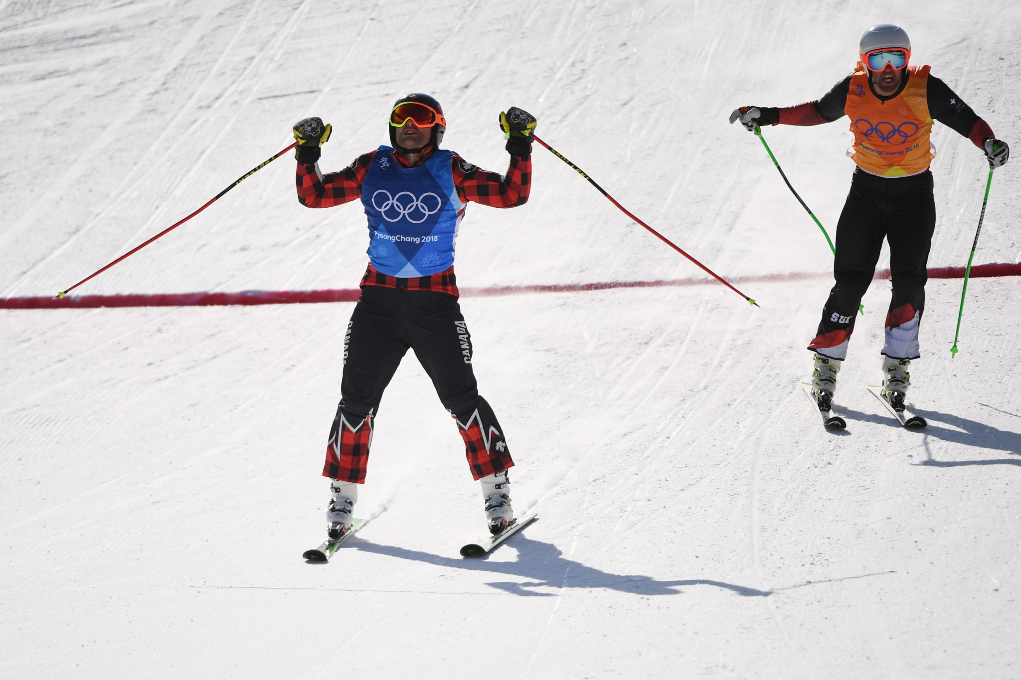 NewsAlert: Canada's Brady Leman wins gold in Olympic men's skicross