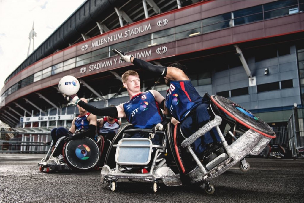 Great Britain Wheelchair Rugby launches sport's first-ever youth programme