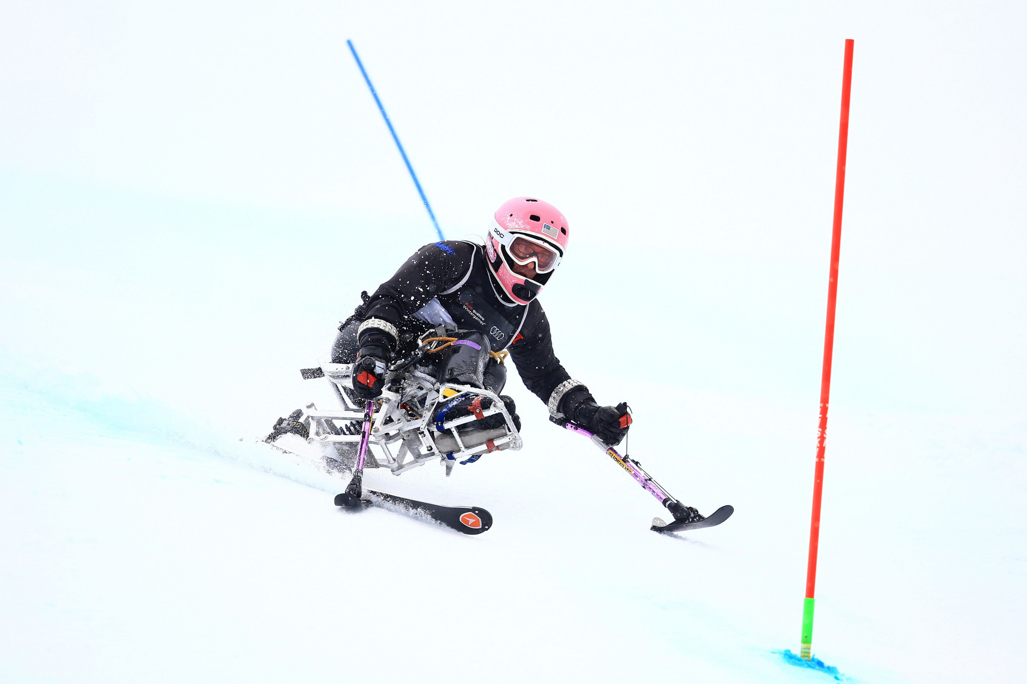 Laurie Stephens will compete in her fourth Winter Paralympics at Pyeongchang 2018 ©Getty Images