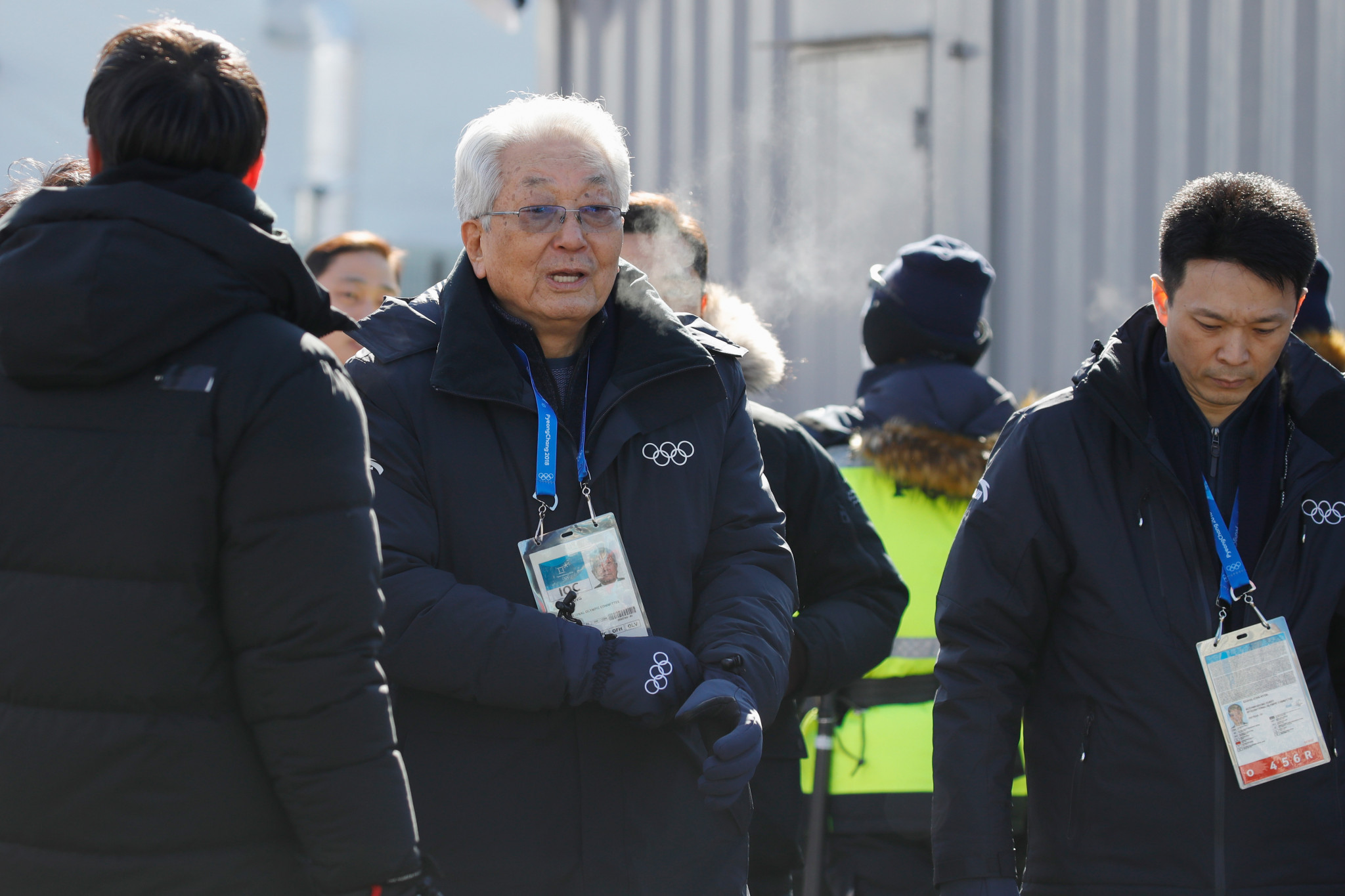 Chang Ung pictured attending the Pyeongchang 2018 Winter Olympic Games ©Getty Images