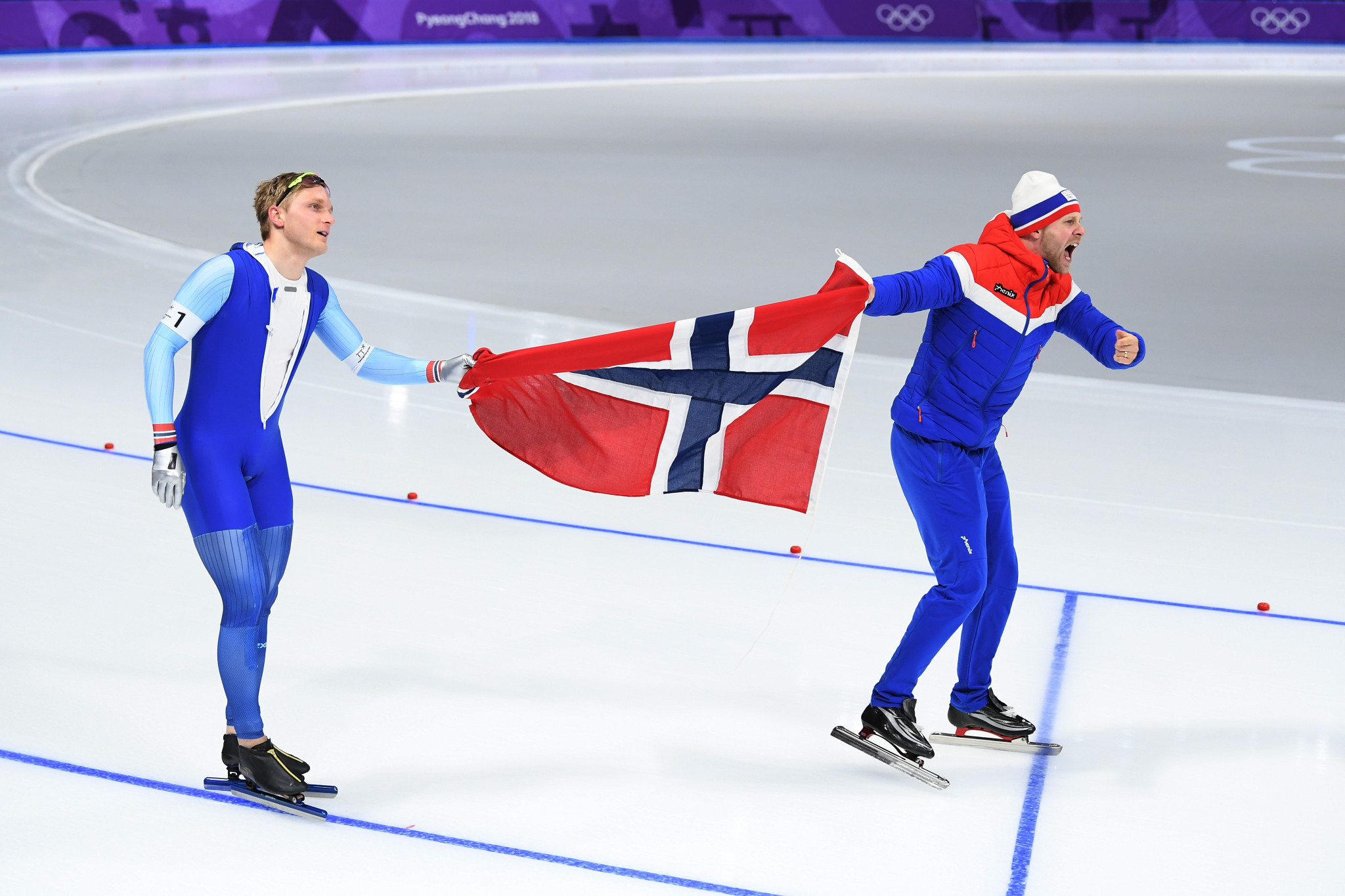 Norway enjoyed success in speed skating today at Pyeongchang 2018 ©Getty Images