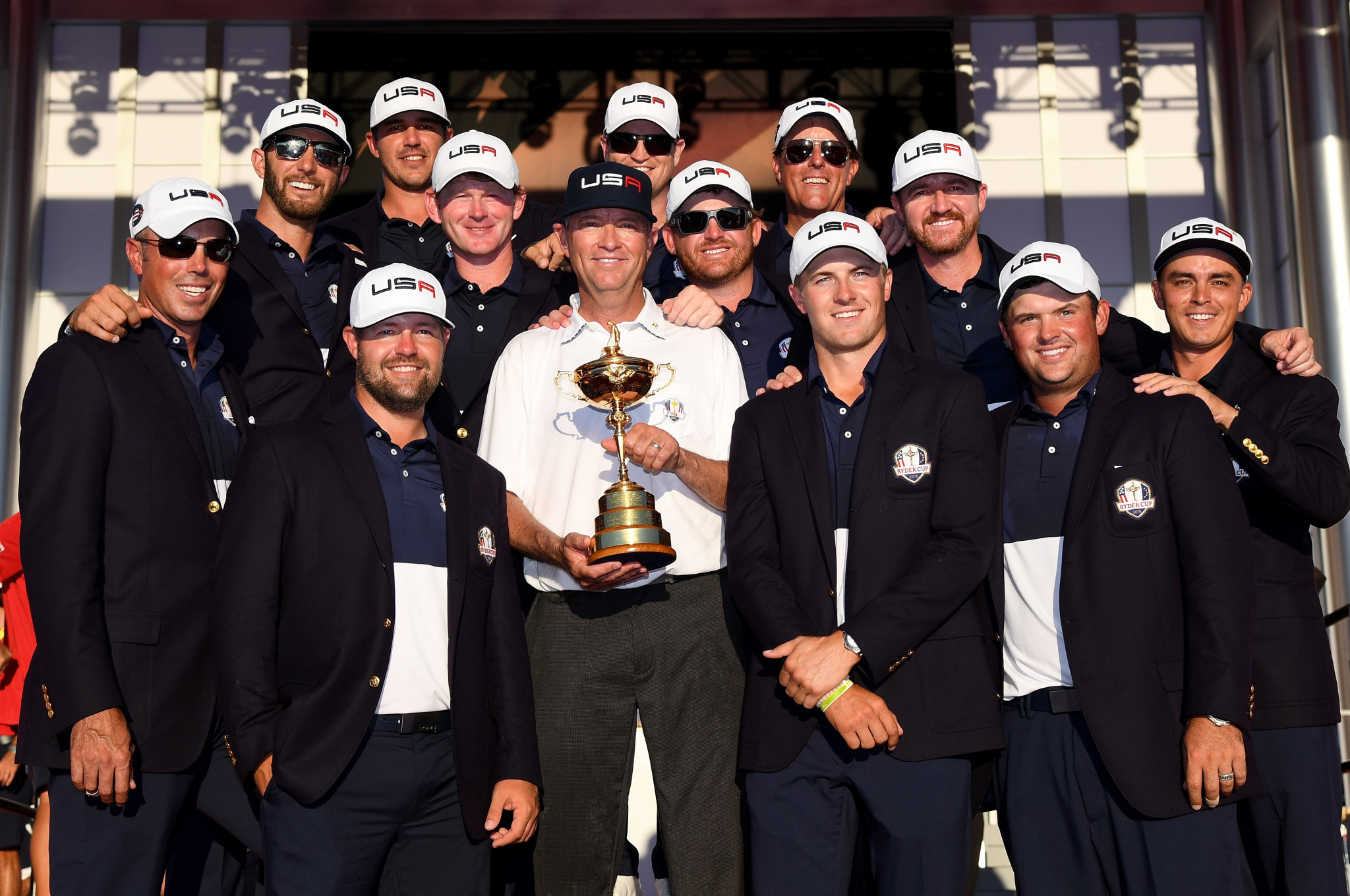 The United States are defending Ryder Cup champions ©Getty Images
