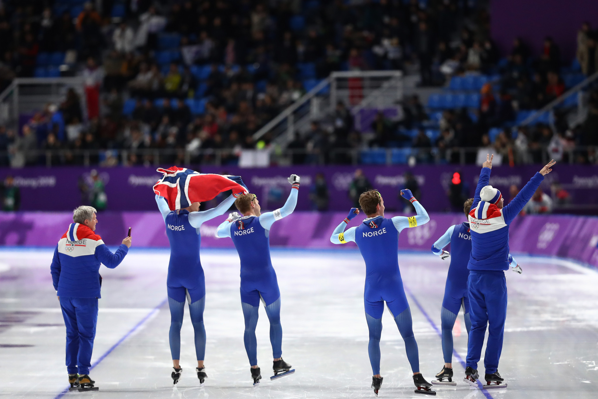 Olympic speedskating: Women's team pursuit finals results and highlights