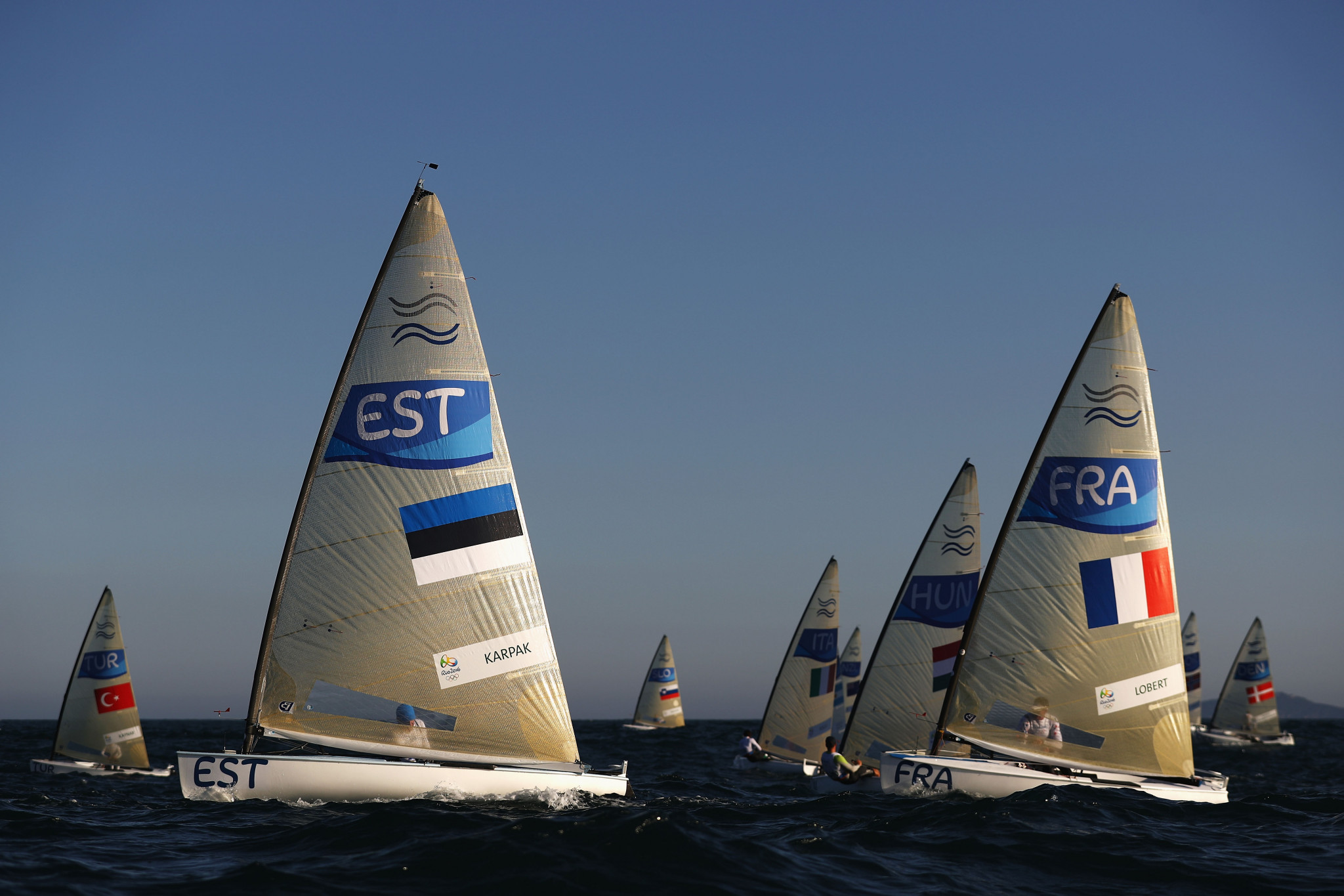 World Sailing renew half of classes for Paris 2024